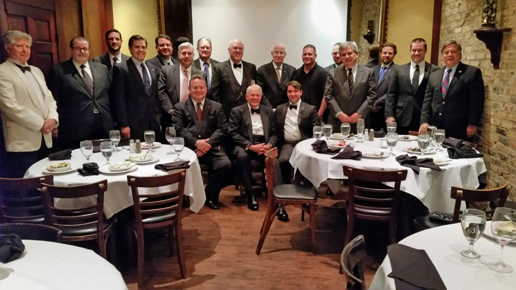 Hillcrest Lodge Festive Board with Brent Morris