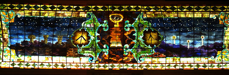 Grand Lodge of Texas Stained Glass