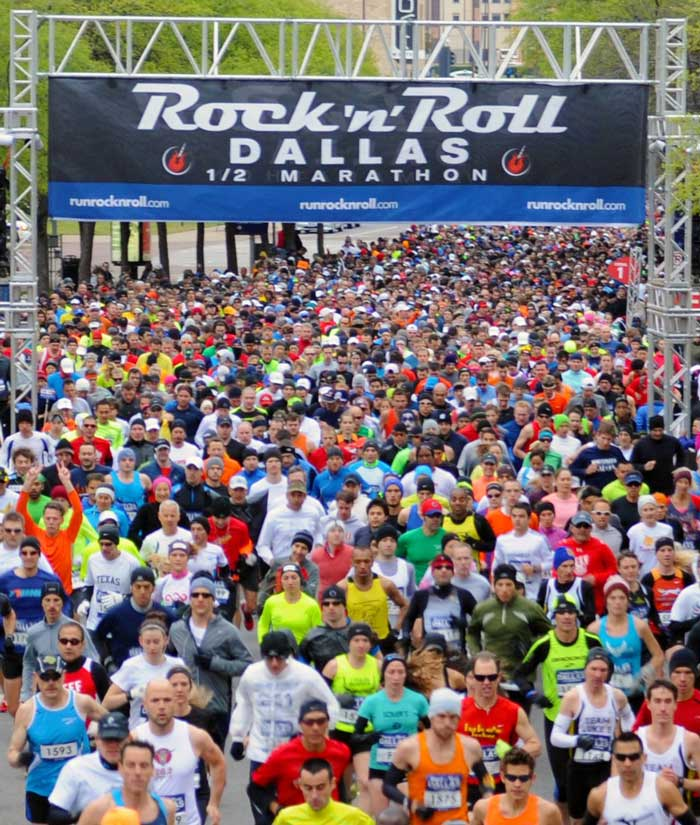 Dallas Rock and Roll Marathon