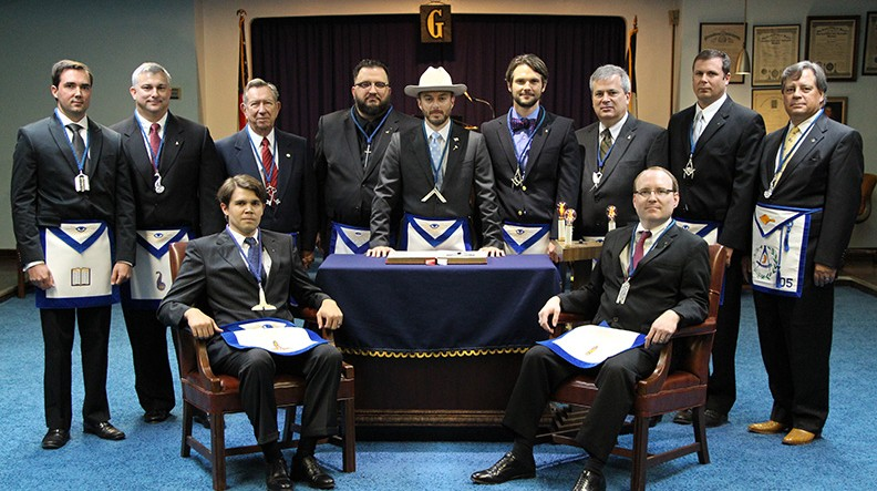 2013 - 2014 Masonic Officers Installation