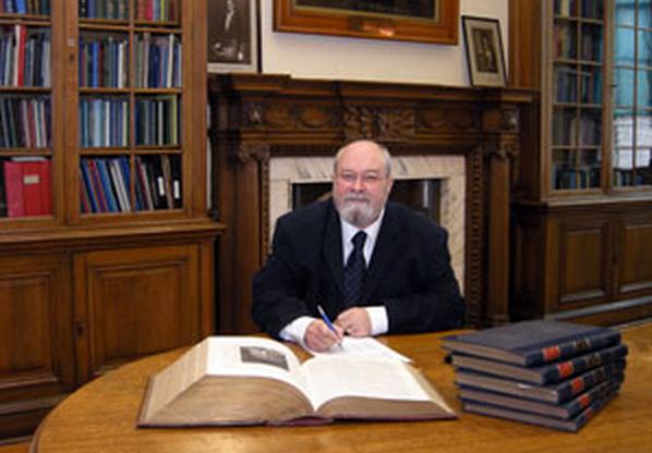 Robert L D Cooper - Freemason & Curator of the Grand Lodge of Scotland