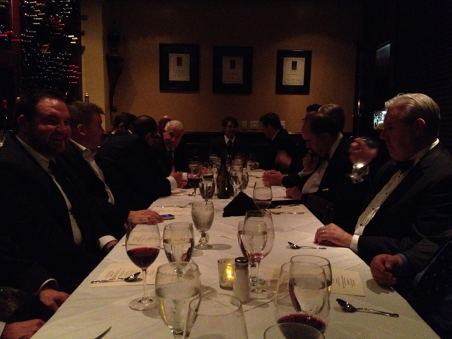 Dallas Masons at the Masonic Festive Board 2