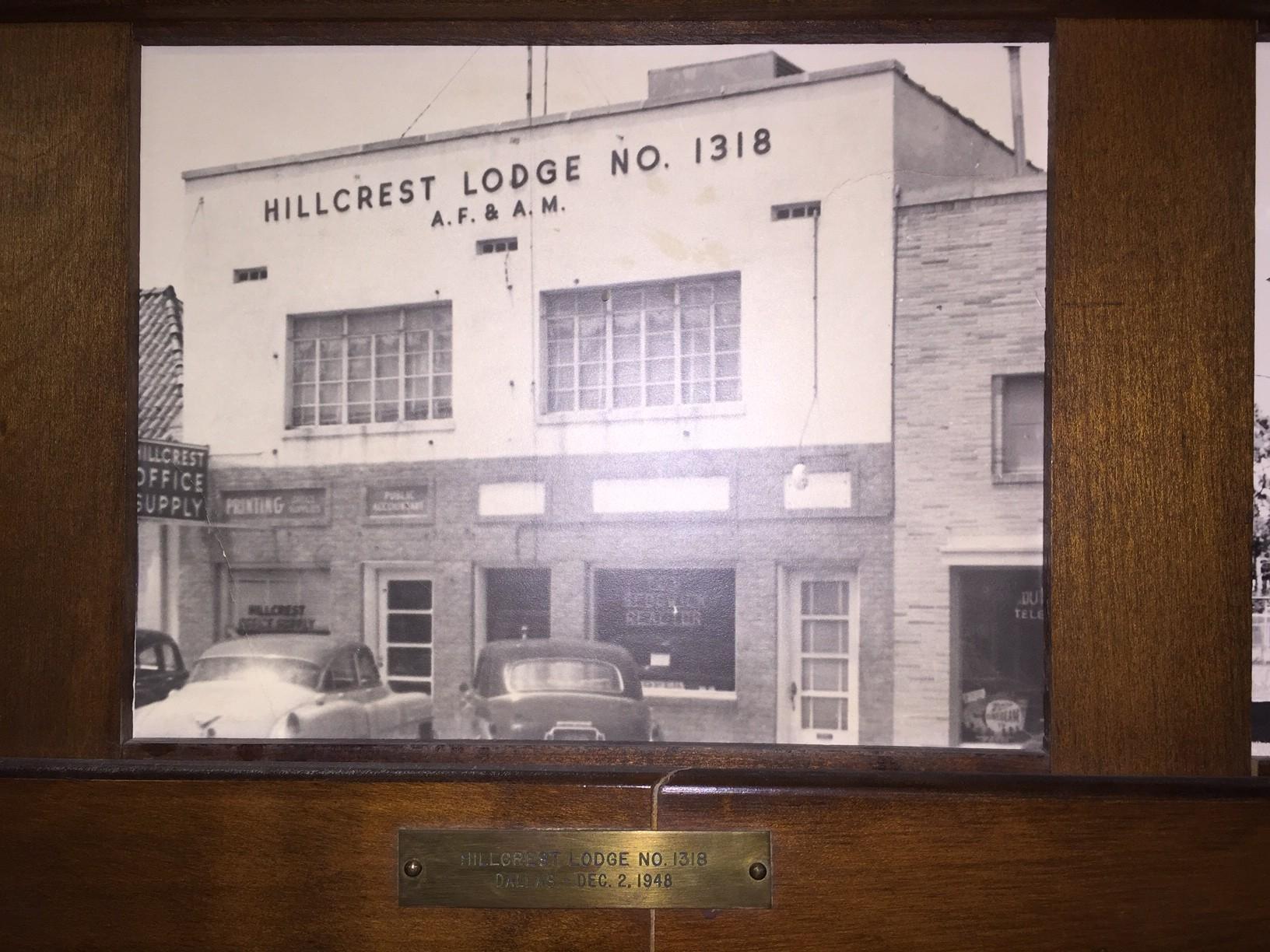 Hillcrest Masonic Lodge Original Building