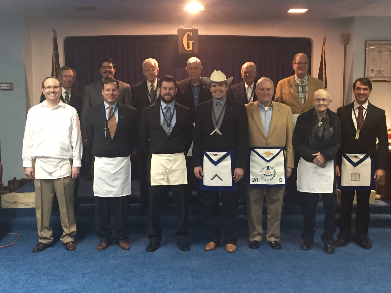 Seth Alston's Master Masons Degree