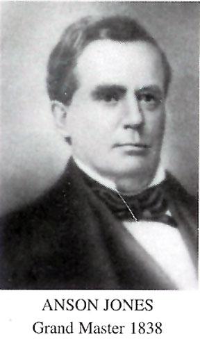 Grand Master Anson Jones