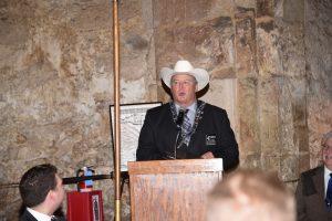 Alamo Lodge Worshipful Master F. Michael Gollahon