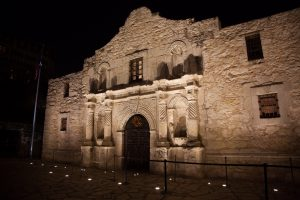 Alamo night shot