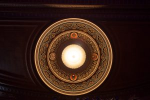 San Antonio Scottish Rite Cathedral Auditorium Ceiling