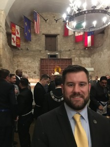 Seth Alston Master Mason In the Alamo