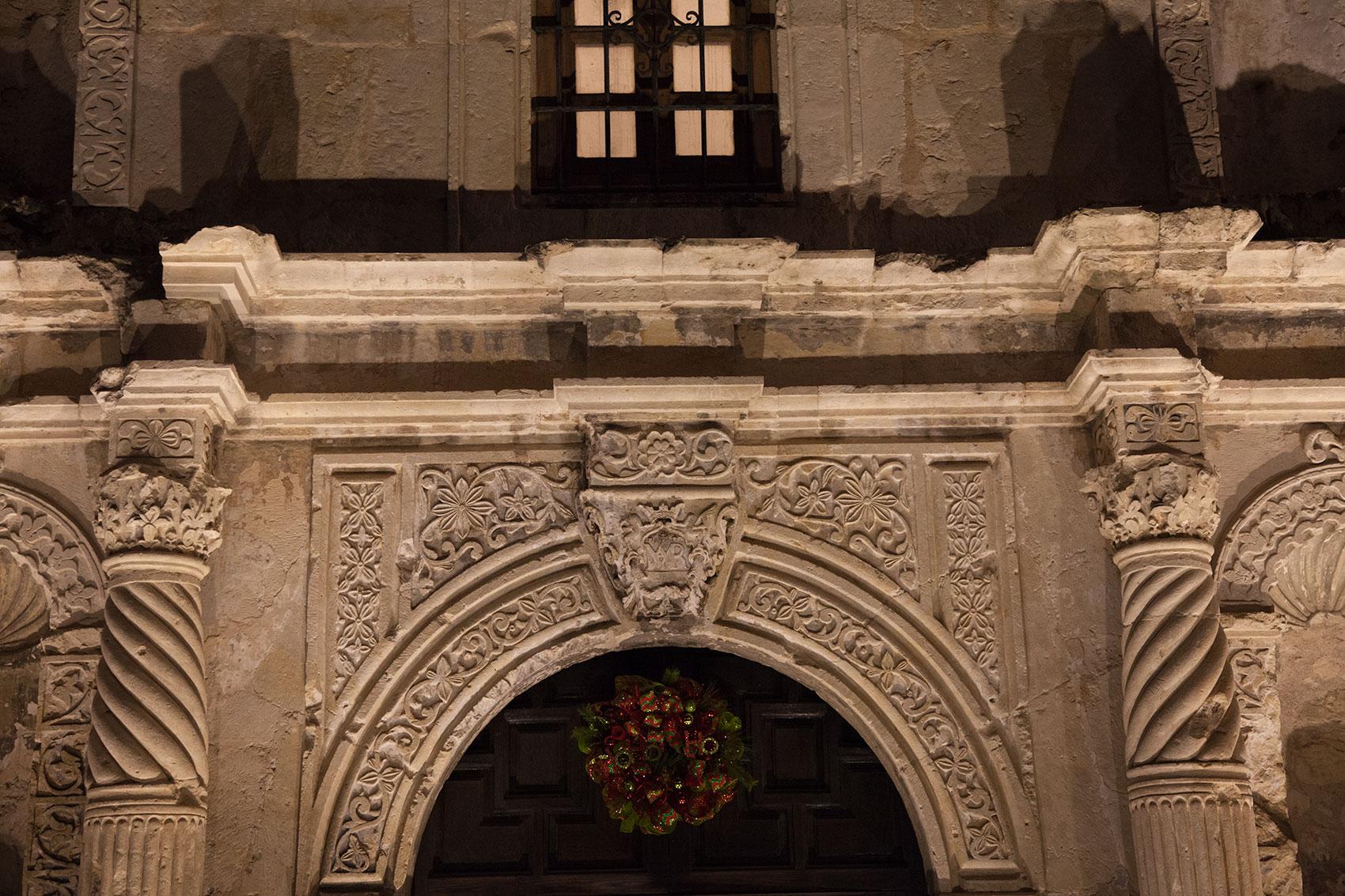 Alamo Close Up Columns