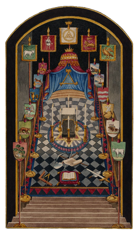 Holy Royal Arch Tracing Board