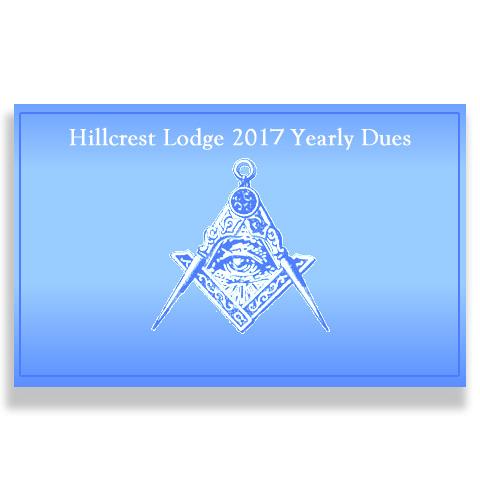 Yearly Membership Dues 2017