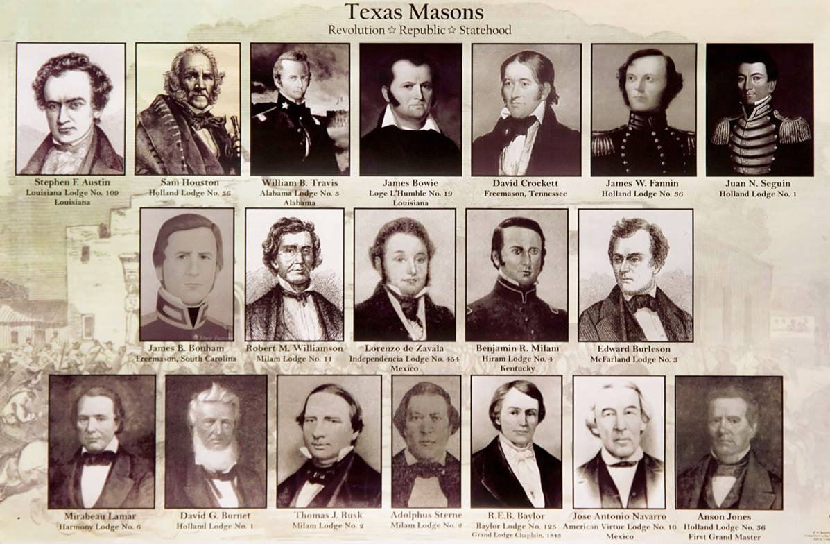 Famous Texas Freemasons