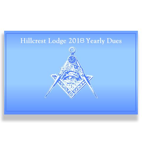 Hillcrest 1318 Dues 2018