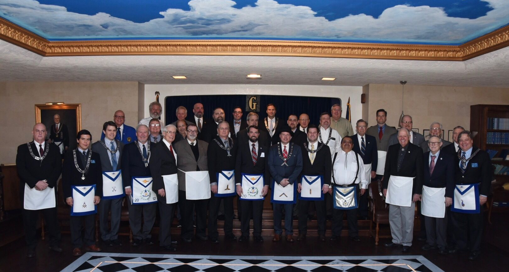 DDGM Wahlquist's Official Visit to Hillcrest Lodge