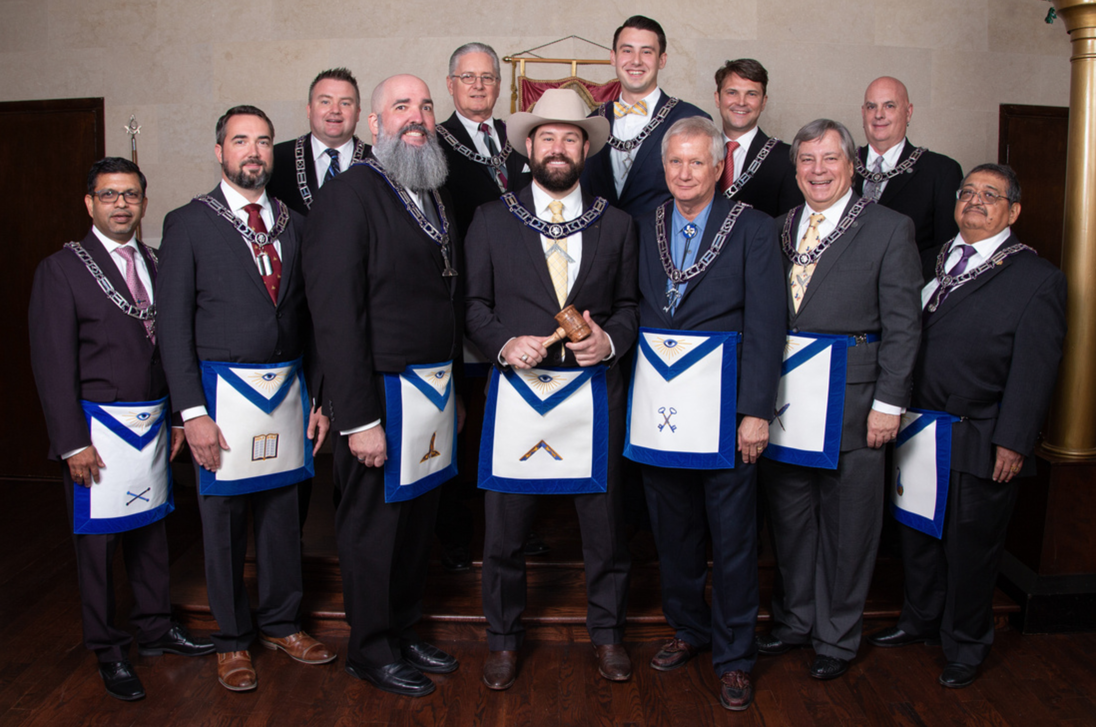 Hillcrest Lodge 2019-2020 Officer Photos